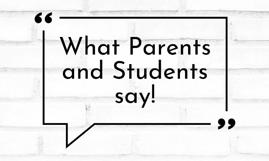 what parents say about LK Academy