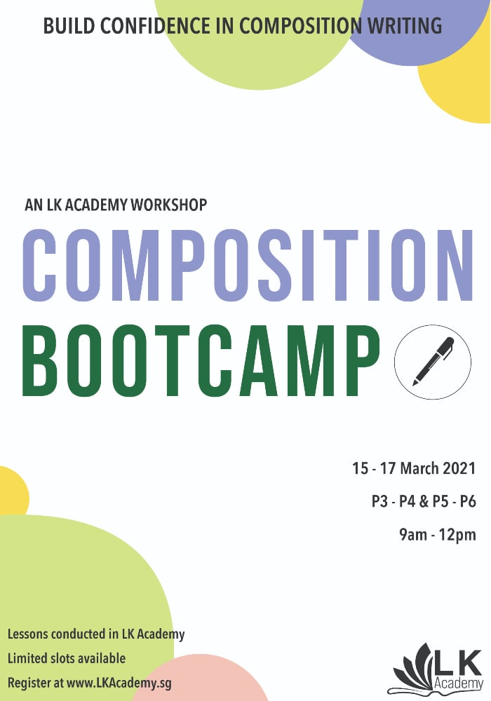 Composition Bootcamp Holiday Workshop March 2021