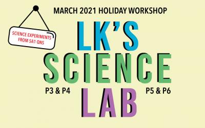 LK Science Lab March 2021