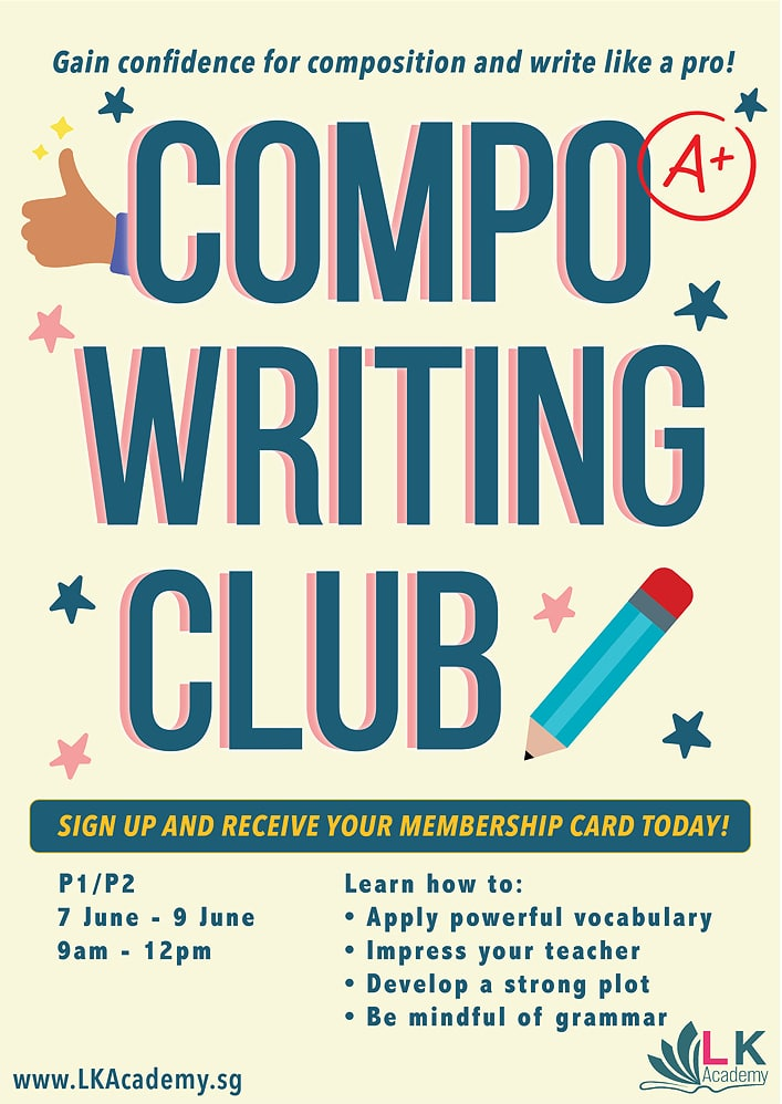 compo writing club holiday workshop june 2021