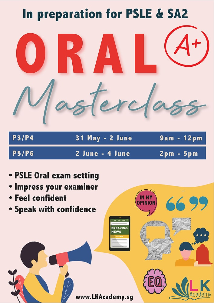 oral masterclass holiday workshop june 2021