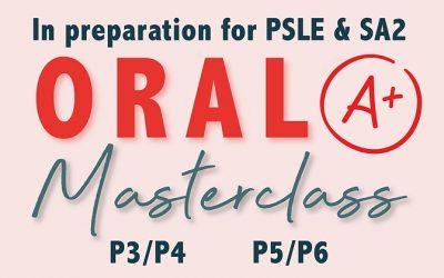 Oral Masterclass Workshop June 2021