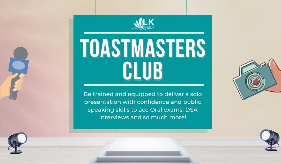Toastmasters Club Nov/Dec 2021